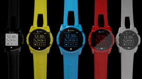 Nokia Lumia watch concept 4