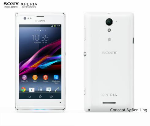 Sony Xperia L1 Concept