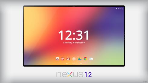 nexus 12 concept tablet
