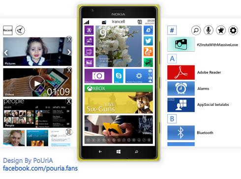 windows phone 9 concept