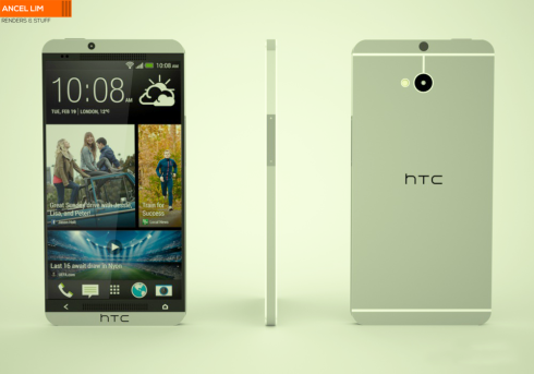 HTC M8 One two concept