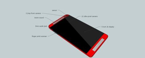 HTC M8 render 2