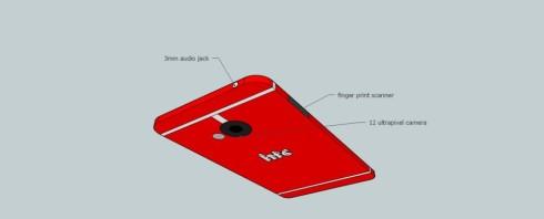 HTC M8 render 4