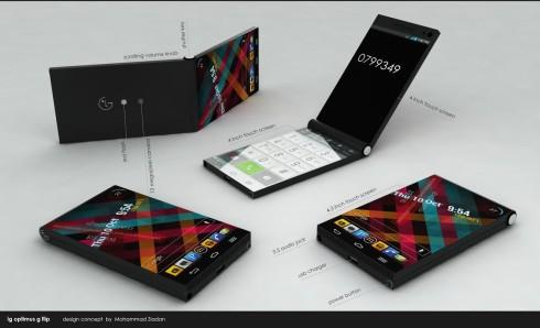 LG Optimus G Flip concept