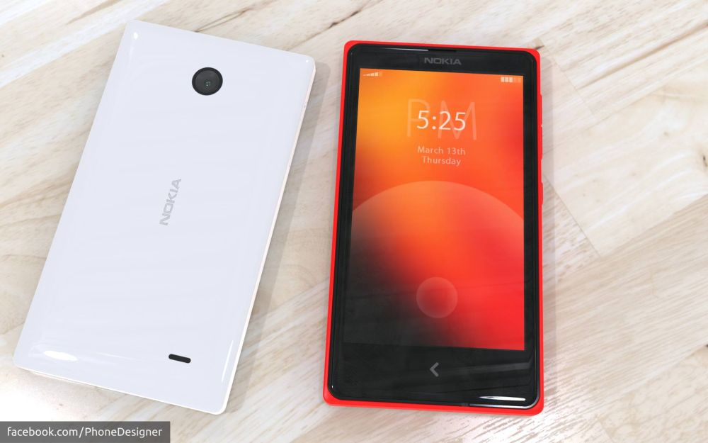 Nokia Normandy Android phone 3 – Concept Phones
