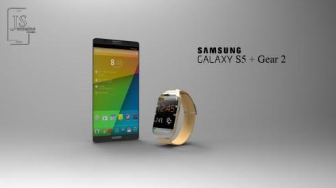 Samsung galaxy s5 + gear 2