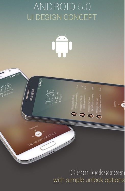 android 5 concept 1