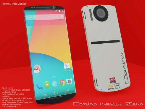 domino nexus zero concept phone