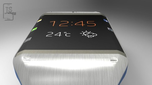 galaxy gear 2 close up