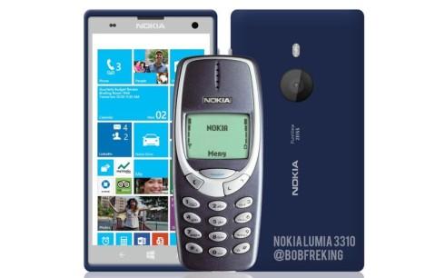 nokia lumia 3310 render 1