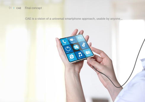 CAE Blind smartphone 1