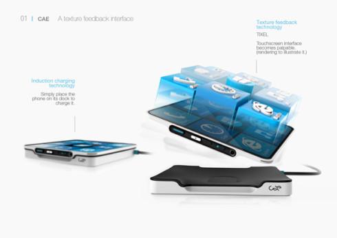 CAE Blind smartphone 3