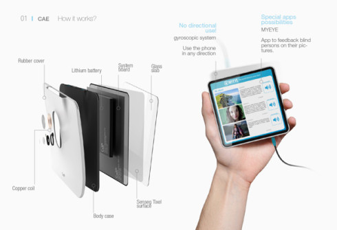 CAE Blind smartphone 5
