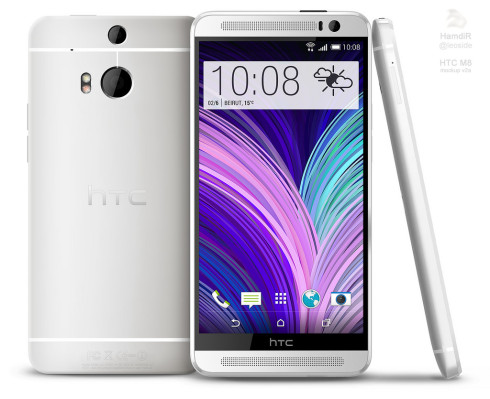 HTC One 2 render XDA 1