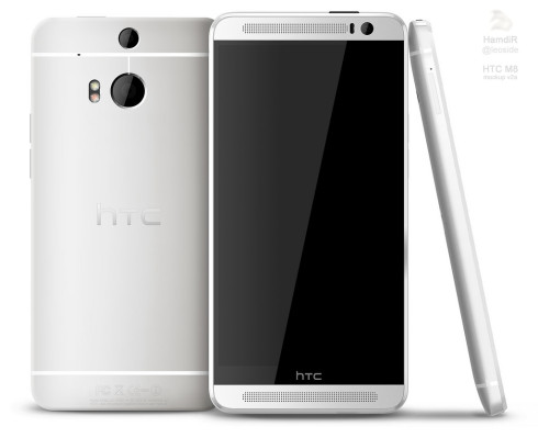HTC One 2 render XDA 2