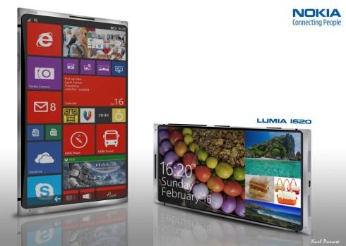 Nokia Lumia 1620 concept 1