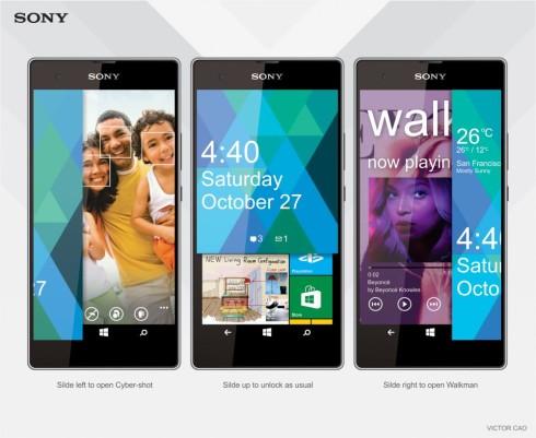 sony vaio windows phone concept 2