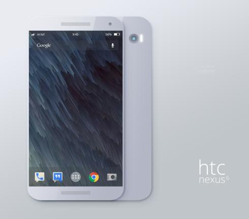 HTC Nexus 6 render