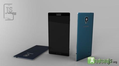 Samsung Galaxy F concept 1