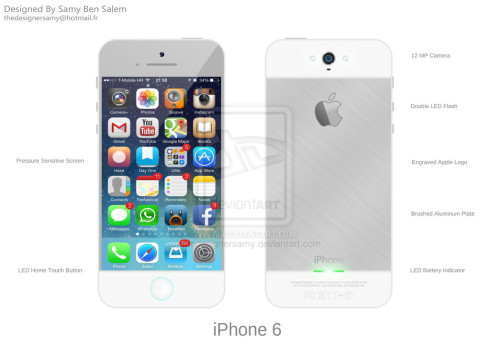 iphone 6 clean concept 3