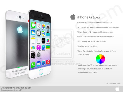 iphone 6 clean concept 4