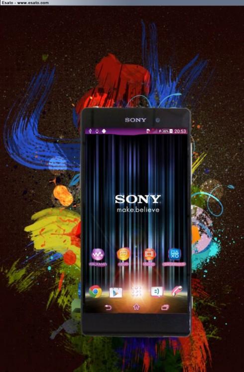 sony concept phone