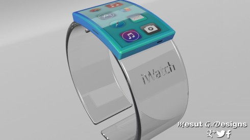 Apple iWatch Glass hologram 1