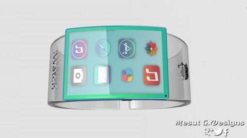 Apple iWatch Glass hologram 2