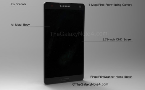Galaxy-Note-4-Concept-Front