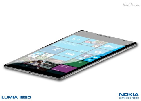 Nokia Lumia 1820 mockup 1
