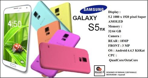 galaxy s5 nx concept