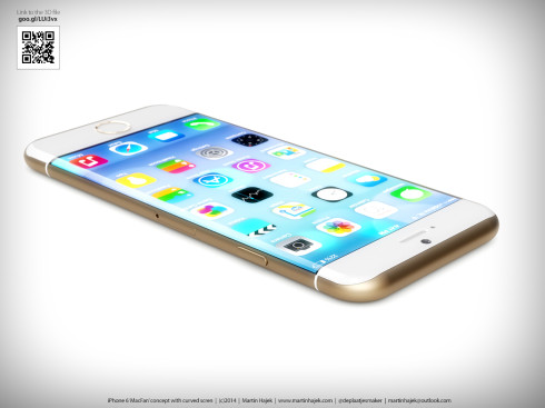 iPhone 6 Curved Martin Hajek concept 1