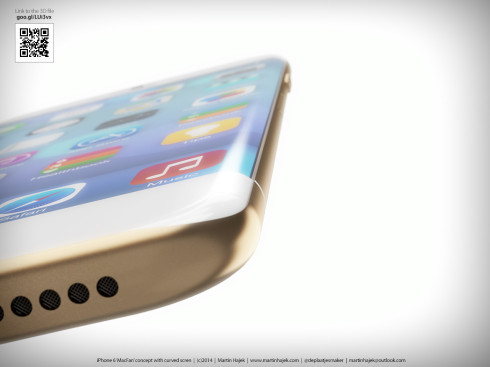 iPhone 6 Curved Martin Hajek concept 2