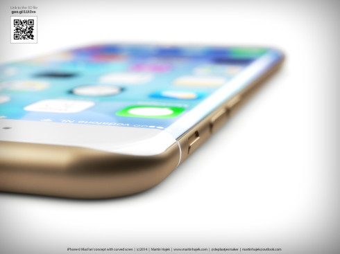 iPhone 6 Curved Martin Hajek concept 3