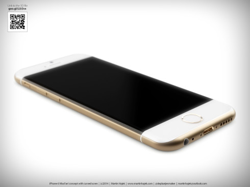 iPhone 6 Curved Martin Hajek concept 5