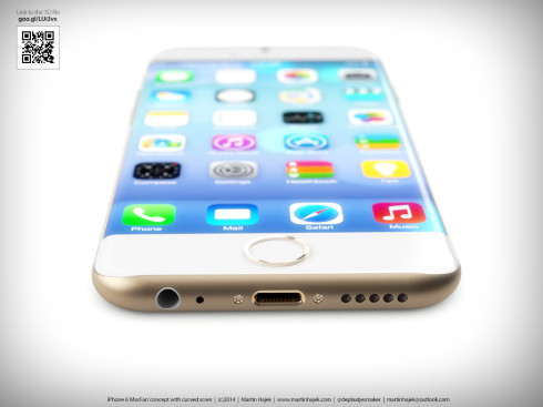iPhone 6 Curved Martin Hajek concept 6