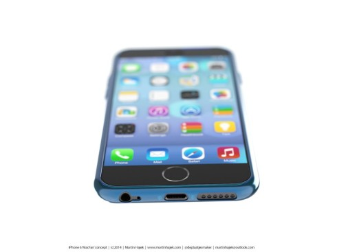 iPhone 6 Martin Hajek concept 1