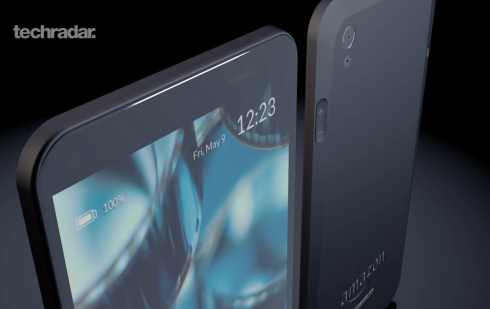Amazon Phone concept Techradar 1