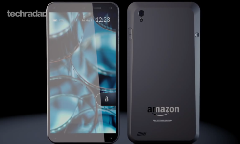 Amazon Phone concept Techradar 2