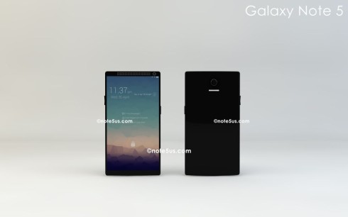 Galaxy Note_5_Front_Rear