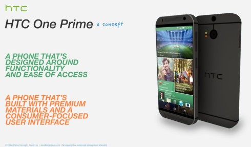 HTC One Prime teaser