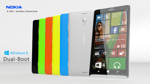 Nokia dual boot Android Windows Phone 1