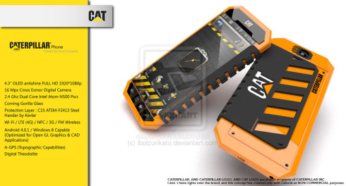 caterpillar phone