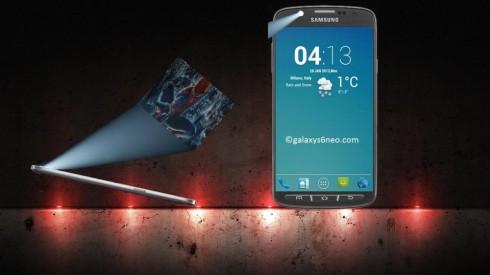 galaxy s6 neo projector