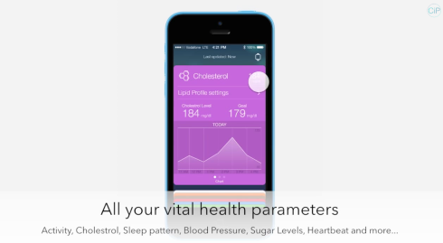 ios 8 healthbook concept 3