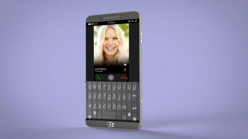 BlackBerry physical keyboard concept 1