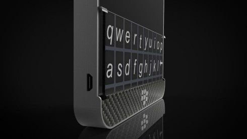 BlackBerry physical keyboard concept 2