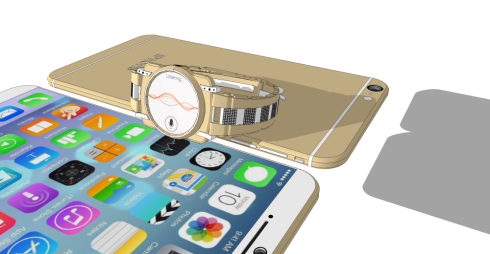 iPhone 6 iWatch Pro concept 1