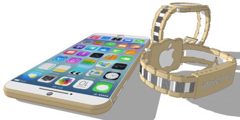 iPhone 6 iWatch Pro concept 5