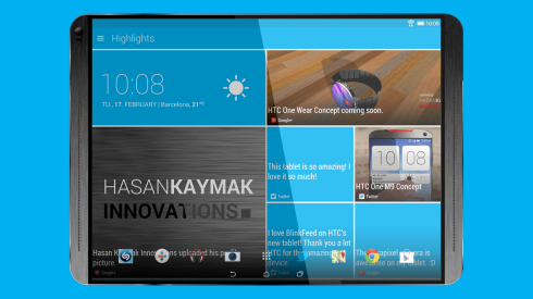HTC T12 tablet concept 1